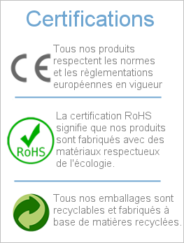 certifications projecteur led industriel