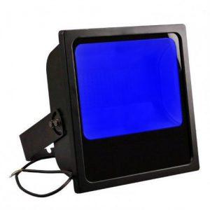 Projecteur led industriel bleu