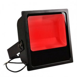 Projecteur led industriel Rouge